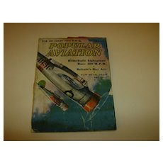 Popular Aviation ~ Magazine ~ September 1937