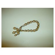 Vintage Coro Faux Pearl Bracelet