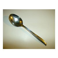 Twin Star ~ Oval Soup Spoon ~ Oneida Community Stainless