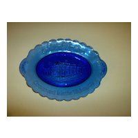 Avon Mount Vernon George And Martha Washington Blue Plate