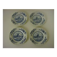 Tulip Time Bread and Butter Plates  by Johnson Bros. England