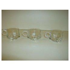 Hazel Atlas Crystal Snack Cups