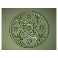 Anchor Hocking  Prescut Snack Plate