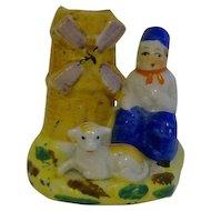 Dutchman  Windmill Vase