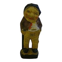 Old Man Figurine Made in Japan