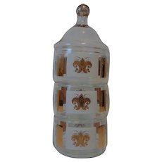 Libbey Glass Stacking Candy Dish