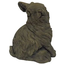 Rabbit Sculpture Mount St. Helen's Ashes Souvenir