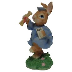 "Bunny Tales ""Hair of Higher Learning""  Figurine"