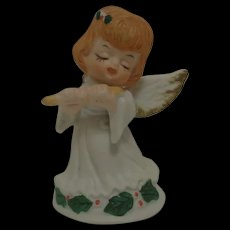 Porcelain Christmas Angel 1960's