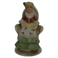 Victorian Woman Figurine