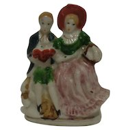 Victorian Couple Figurine