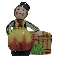 Dutch Boy Planter Made in Japan