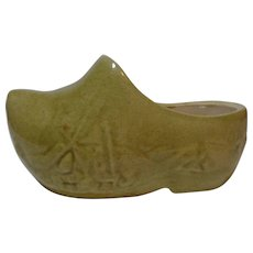 Dutch Shoe Ceramic Planter