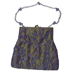 Inge Christopher Satin Evening Bag