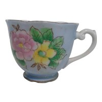 Bone China Tea Cup Scallop Edge