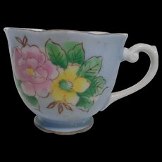 Bone China Tea Cup Scallop Edge