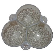 Moonstone 3 Part Relish Dish