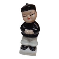 Oriental Man Figurine Japan