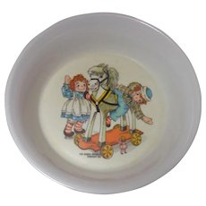 Raggedy Ann and Andy Bowl 1969