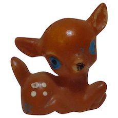 Vintage Miniature Deer Fawn Figurine