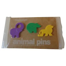 Tupperware Animal Pins