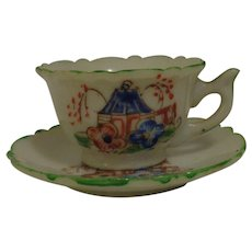 Tea Cup and Saucer Child's
