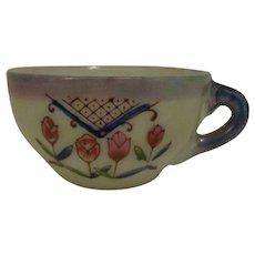 Child's Porcelain Luster Ware Teacup