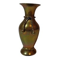 Solid Brass Vase Made in India