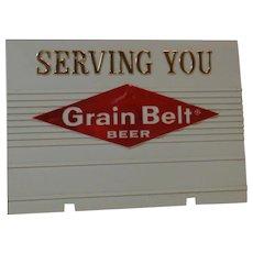 Grain Belt Beer Sign