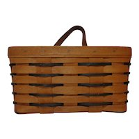 Longaberger Heartland Medium Key Basket