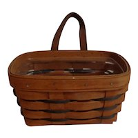 Longaberger Heartland Small Key Basket