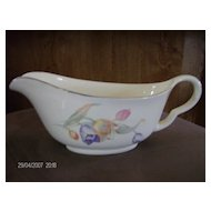 Hall China Tulip Gravy Boat