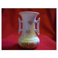Made in Japan Hand Painted Porcelain Vase Kutani