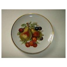 Decorative Fruit Plate Pears & Cherries Japan