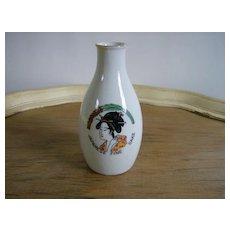 Japanese Fine Sake Porcelain Bottle