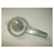 Foley Aluminum Glass Top Juicer 1950's