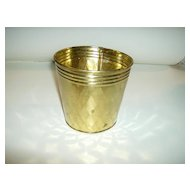 Lacquered Brass Planter Made in India