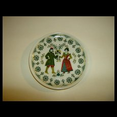 Kurt Hammer German Folk Art Plate