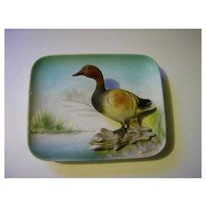 Enesco 3-D Ceramic Wall Plaque - Canvas Back Duck