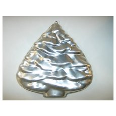 Aluminum Christmas Tree Hanging Cake/Jello Mold