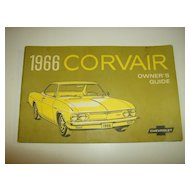 Corvair Owner's Guide for 1966