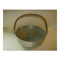 Mirro Aluminum Dinner Roll Basket #3508