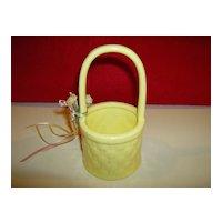 Ceramic Easter Basket