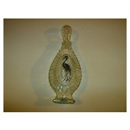 Avon  Golden Flamingo Charisma Bath Oil Decanter ~ 1975