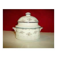 Noritake Sugar Bowl with Cover ~ Traviata Pattern