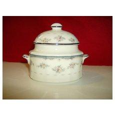 Noritake Sugar Bowl with Cover ~ Traviata Pattern