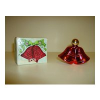 Avon Christmas Bells Cologne Bottle