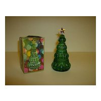 Avon Yuletree Cologne Bottle