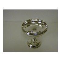 Silver Plate Pedestal Bon Bon Dish ~ Lawrence B. Smith Co.