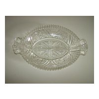 Stars & Bars 2 Part Relish Dish ~ Anchor Hocking